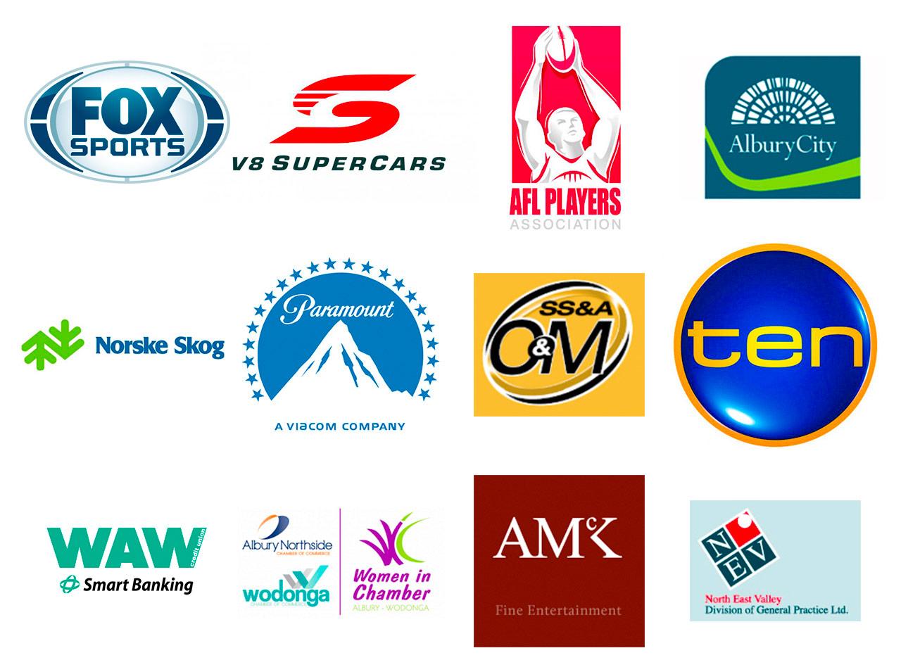 MediaKing client logos